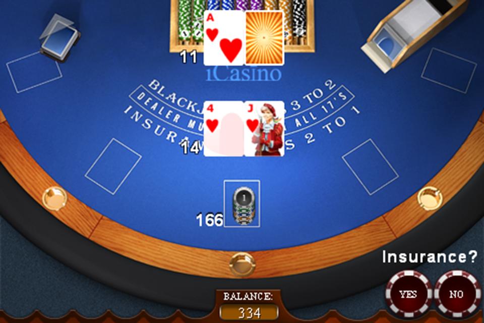 Screenshot Winner iCasino Blackjack