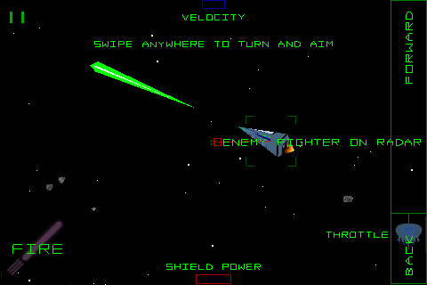 Screenshot 3D Space Combat: Battle for Vesta