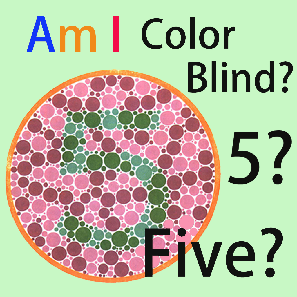 Color Blind Test For Kid | iPhone Medical apps | by GuoDong Ren